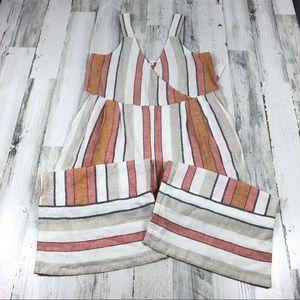 BP cropped wide leg jumpsuit size medium